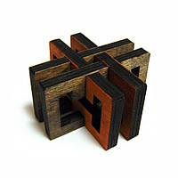 3D-головоломка деревянная Перекресток, фото 1
