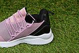 Модні дитячі кросівки на дівчинку Nike найк бузкові р31-36, копія, фото 9
