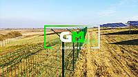 Ограждение солнечных электростанций, солнечных панелей (секций 3D, сварных ораждений) - под ключ
