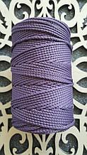 Полиэфирный шнур без сердечника 3мм №20 Пастельно-фиолетовый