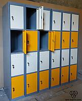 Шкаф локер металлический ШМ-6-24-300х450