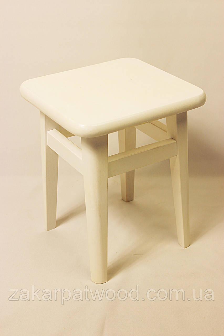 Табурет білий (45*30*30см)