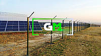 Установка секционных заборов (секций 3D, сварных ораждений) - под ключ(электростанции, промышленные территории