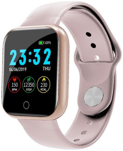 Смарт часы Smart Watchi5 | IP67 | Тонометр | Розовое золото