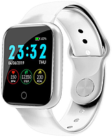 Смарт часы Smart Watchi5 | IP67 | Тонометр | Белый | Гарантия