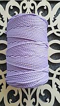 Полиэфирный шнур без сердечника 3мм №22 Нежно-фиолетовый