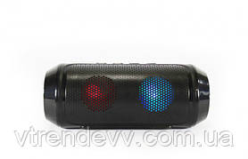 Колонка портативная Music speaker SPS Q610 c LED подсветкой 6W черная