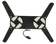 Подставка для ноутбука кулер ErgoStand TS-202 с подсветкой (41118)