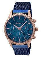 Мужские наручные часы Guardo P11102m RgBlBl Розовое золото, КОД: 1548650