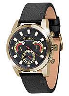 Мужские наручные часы Guardo Черный S01896 GBB, КОД: 1548746