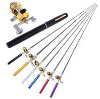 Карманная мини удочка Fishing Rod в форме ручки