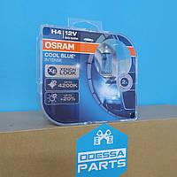 Автомобильная лампа накаливания COOL BLUE INTENSE Н4 12V 60/55W (бело-голубой свет) - 2 шт. (OSRAM)