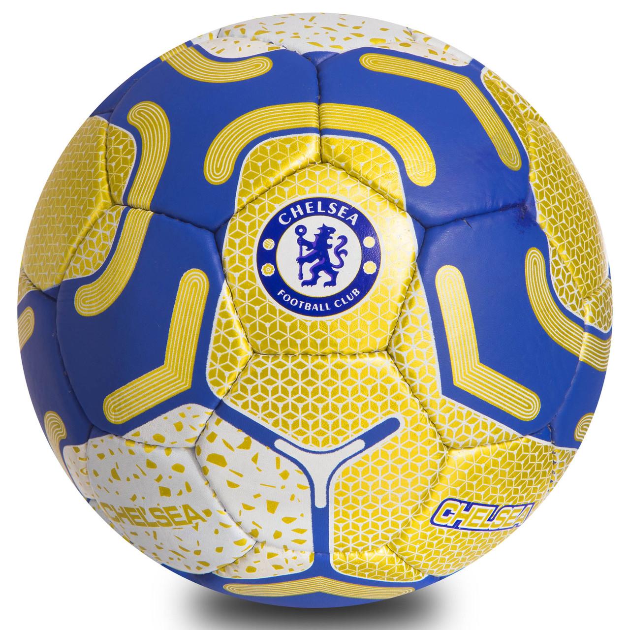 М'яч футбольний №5 Гриппи 5сл. CHELSEA