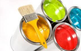 Оздоблювальні матеріали (фарби, грунтовки, барвники, лаки, блакиті, декоративні фарби, шпакл.готові)