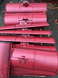 Лопата-відвал для мотоблоки Воздушка 1200мм, фото 4