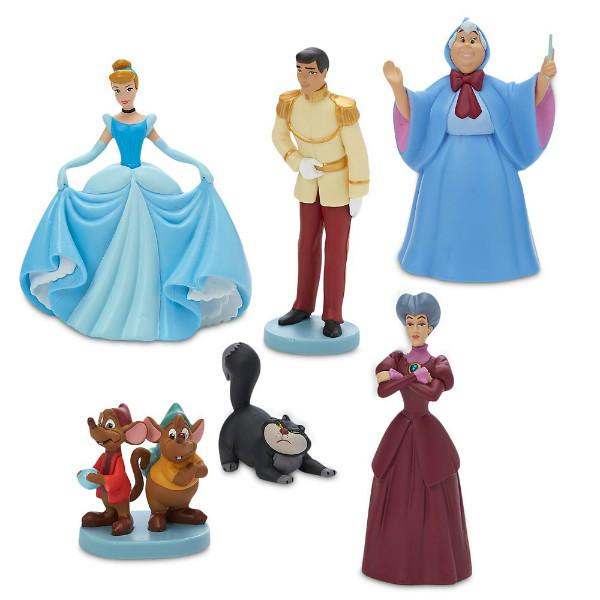 Disney Store Игровой набор с фигурками Золушка Cinderella Figure Play Set 70th