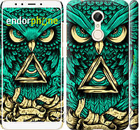 Пластиковый чехол Endorphone на Xiaomi Redmi 5 Сова Арт-тату 3971t-1350-26985, КОД: 1537825