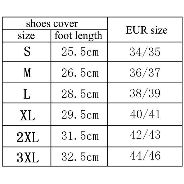 Размерная сетка Dry Steppers