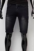 Шорты мужские джинсовые 155 491 черные
