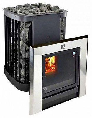 Дровяная печь для бани и сауны KASTOR SAGA 30 T