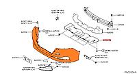 Бампер переднийNissan Leaf ZE1 (18-) 62022-5SA0H