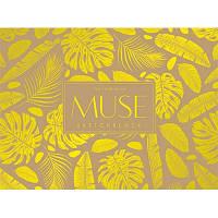 Блок альбом для эскизов А5+ 40л на склейке Sketch MUSE PB-GB-040-026