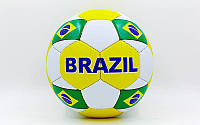 Мяч футбольный №5 Гриппи 5сл. BRAZIL