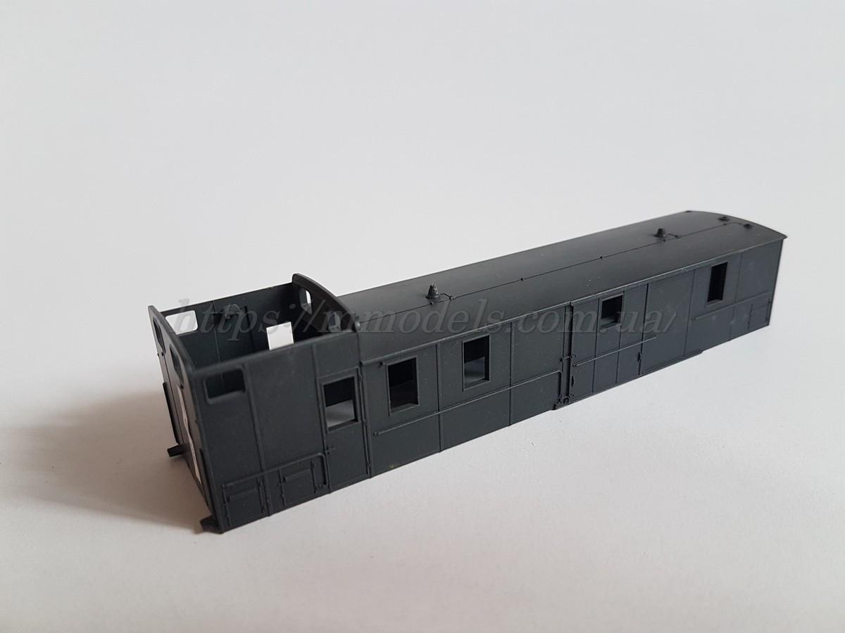 Piko 53145 запасная часть - модель кузова почтового вагона, масштаба H0, 1:87