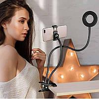Кольцевая лампа для Идеальных бликов и прямых эфиров.