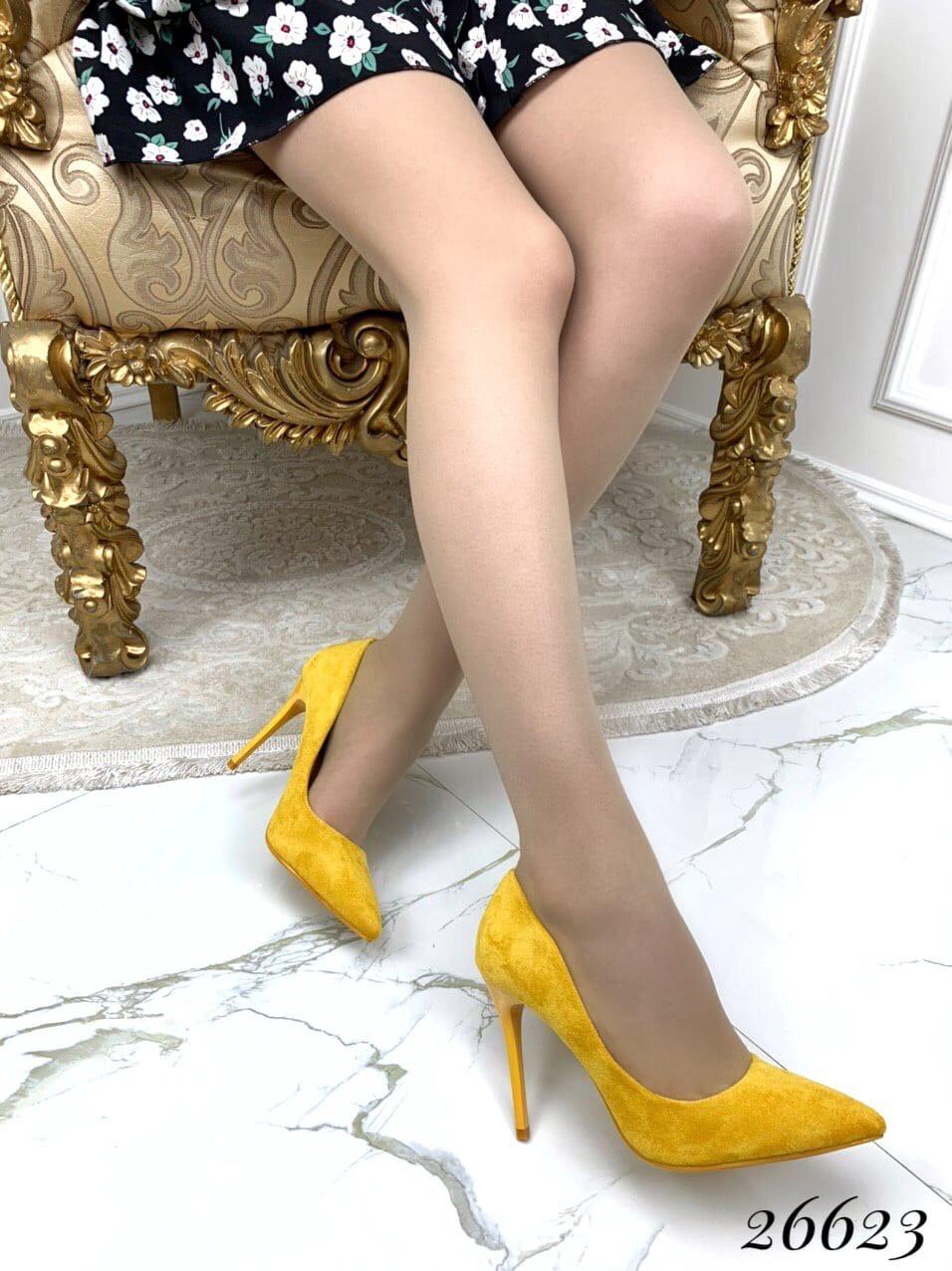Туфли на шпильке острый нос замшевые лакированые в ассортименте много расцветок