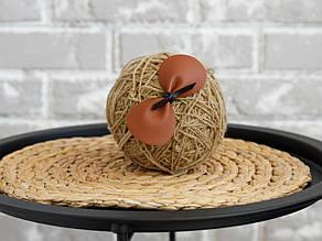 """Пов'язка """"Техас"""" на резинці one size, коричневий"""