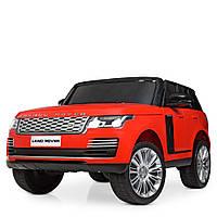 Детский двухместный электромобиль Land Rover M 4175EBLR-3 красный