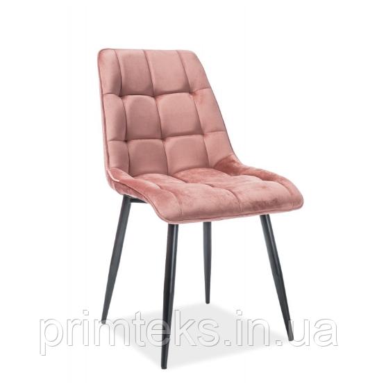 Стілець обідній Chic Velvet ( Чик Вельвет) рожевий