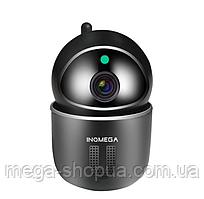 Беспроводная поворотная WiFi Вай Фай IP камера видеонаблюдения для дома, квартиры. Камера відеонагляду PQ431B