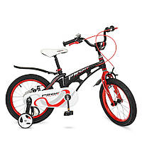 Велосипед детский двухколесный PROFI LMG16201 Infinity 16 дюймов черно-красный матовый