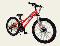 Спортивный велосипед 24 дюйма A192007 Like2bike красный