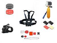 Набор аксессуаров для экшн-камер ZAQ GP001  КОД: GP-001