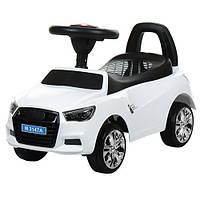 Детская каталка-толокар Bambi  M 3147A(MP3)-1 Audi белый