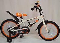 Детский двухколесный велосипед колеса 12 дюймов Barcelona Оранжевый