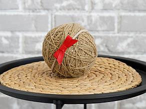 Повязка one size с кожаным бантиком, красный