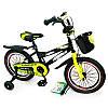 """Детский двухколесный велосипед колеса 16 дюймов """"HAMMER-16"""" S600 + Насос, Рем. коплект"""