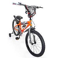 Детский двухколесный велосипед колеса 20 дюймов NEXX BOY-20 Orange Splash