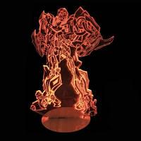 3D Светильник Трансформер 10-1