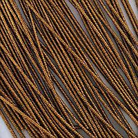 Канитель бамбук 1 мм. Античное золото (металлик) 5 гр