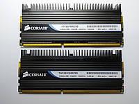 Комплект оперативной памяти Corsair Dominator DDR3 2Gb (2*1Gb) 1600MHz PC3-12800 (TW3X2G1600C9D) Б/У, фото 1