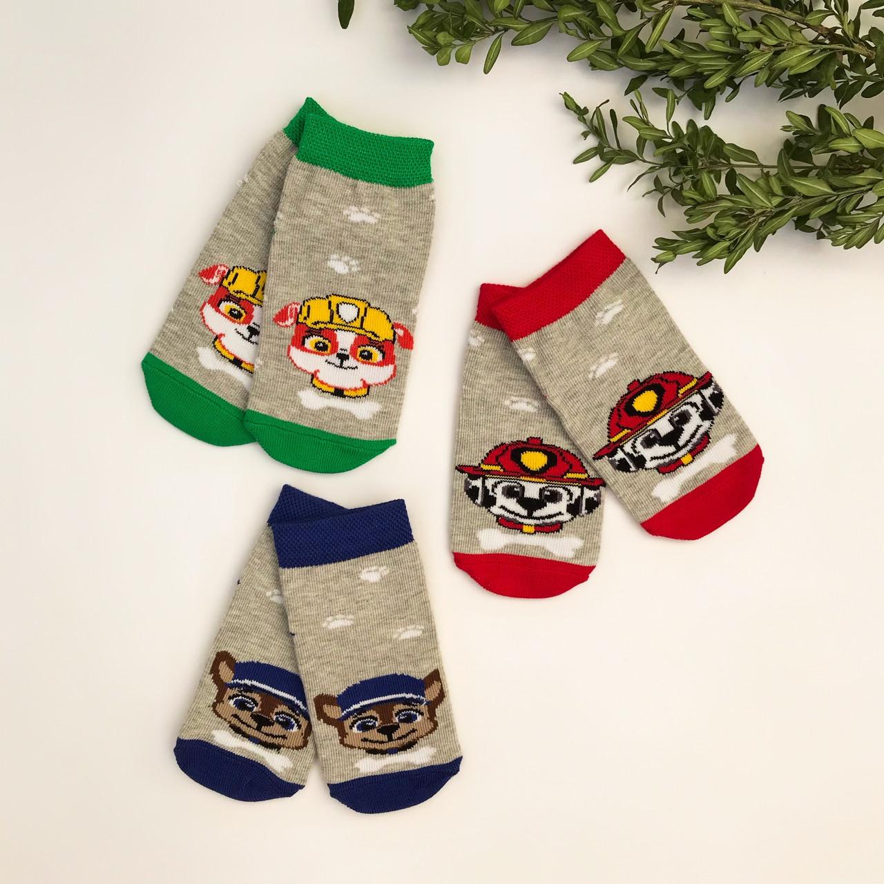 """Детские носки на мальчика V&T socks с рисунком """"Щенячий патруль"""""""