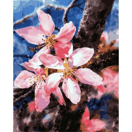 Картина по номерам Цветения яблони, 40x50 см., Babylon