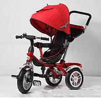 ⏩ Велосипед детский трехколесный Super Trike TR16009 красный