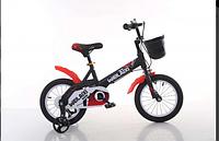 """Детский двухколесный велосипед Топ Райдер (Тop Rider) колеса 16 дюймов  """"876"""" черно-красный"""
