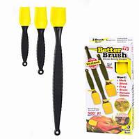 Набор кондитерских силиконовых кистей Better Brush (nri-2126) КОД: nri-2126